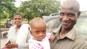 Baby gets new lease of life