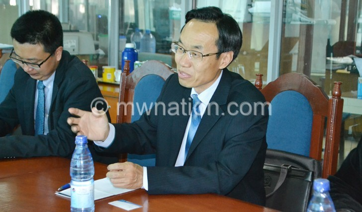 Chinese Ambassador Shi Ting Wang 2 | The Nation Online