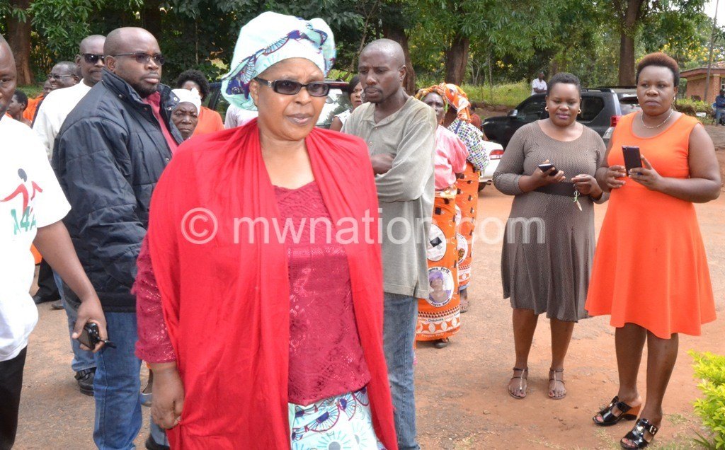 Kumpukwe heading into the court | The Nation Online