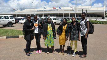 School girls on a prestigious US trip
