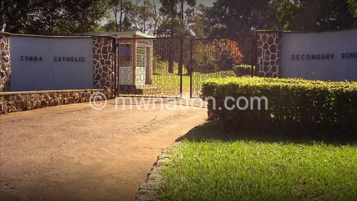 Zomba Catholic SS closed indefinitely