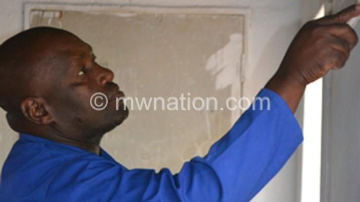 Lirangwe CDSS alumni paint classrooms
