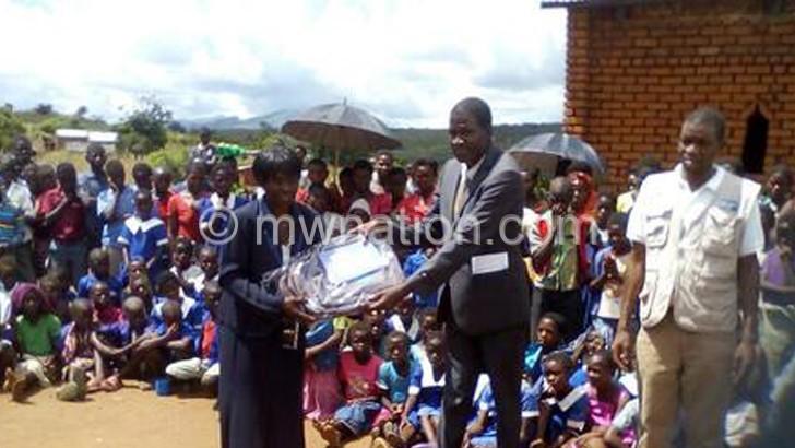 SOS donates K20m materials to BT schools - The Nation Online