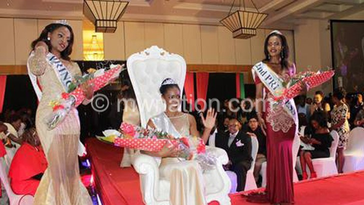 The year Miss Malawi beauty contest returned