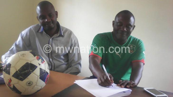 Mzuni replace Pofera-Jegwe with Kadzuwa