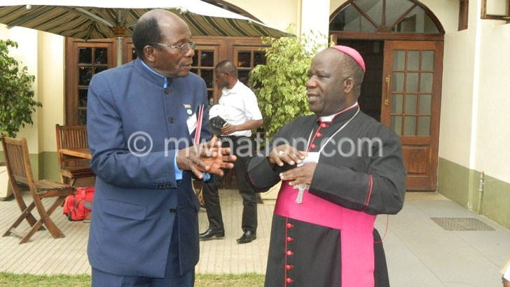 Ntaba and Bishop Msusa | The Nation Online