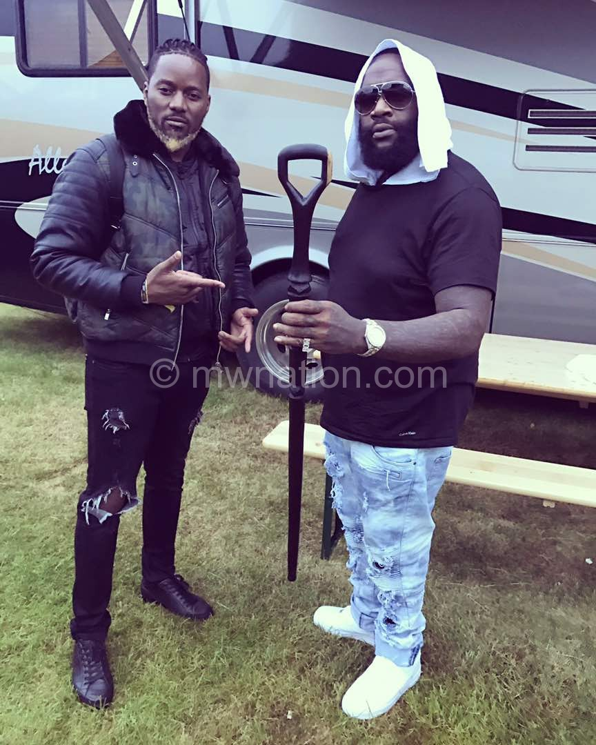 Nyau King and Rick Ross | The Nation Online