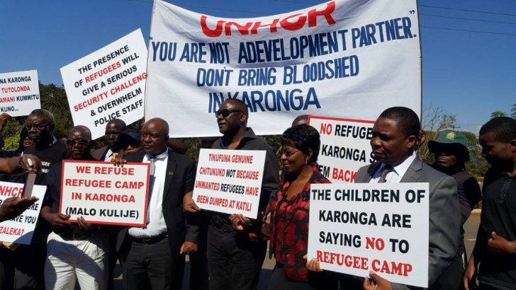 Karonga residents petition House on refugees