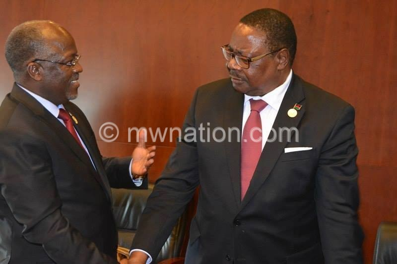 Magufuli and Mutharika | The Nation Online