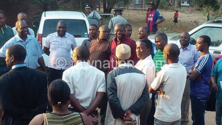 Salima business community  pledges to support police