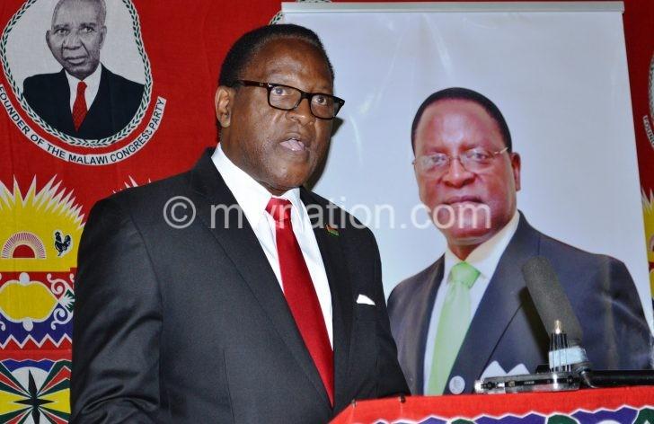 Lazarus Chakwera e1503389326195 | The Nation Online