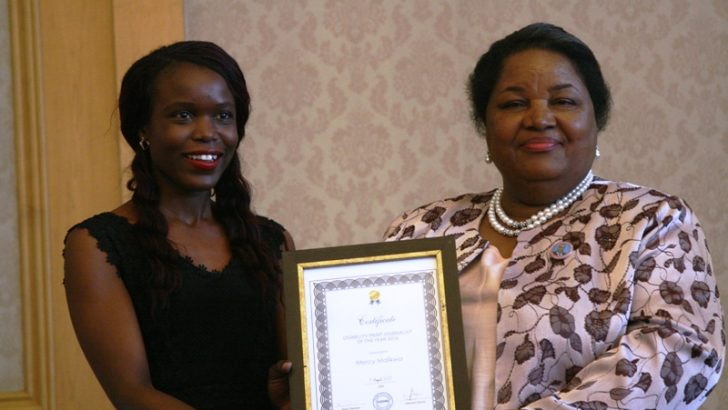 NPL's Mercy Malikwa wins disability award
