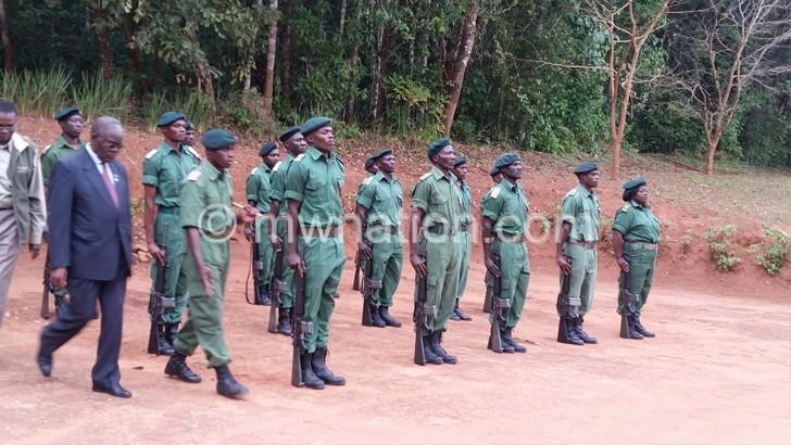 Parks, Wildlife officers  outline challenges