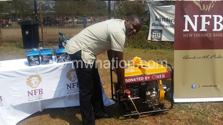 NFB powers Mzuzu Health Centre