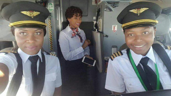 Yolanda Ndala-Kaunda and Lusekelo Mwenifumbo