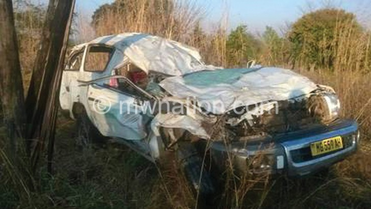 Five die in road accident