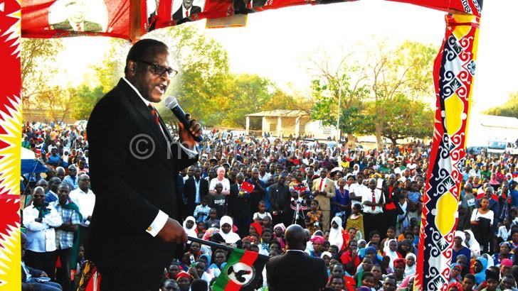 chakwera mcp balaka   The Nation Online