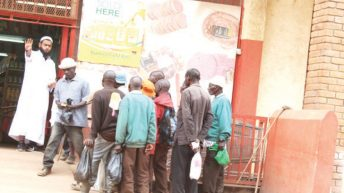 Begging day in Lilongwe