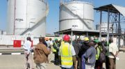 MCCL fuel tanks in Tanzania idle