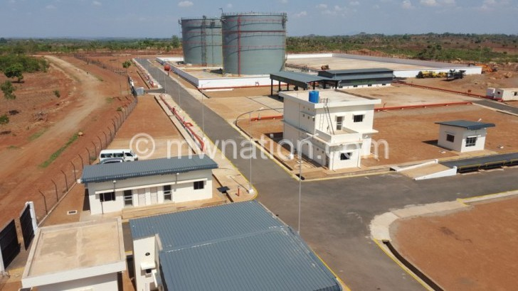 Mzuzu strategic fuel  reserves now operational