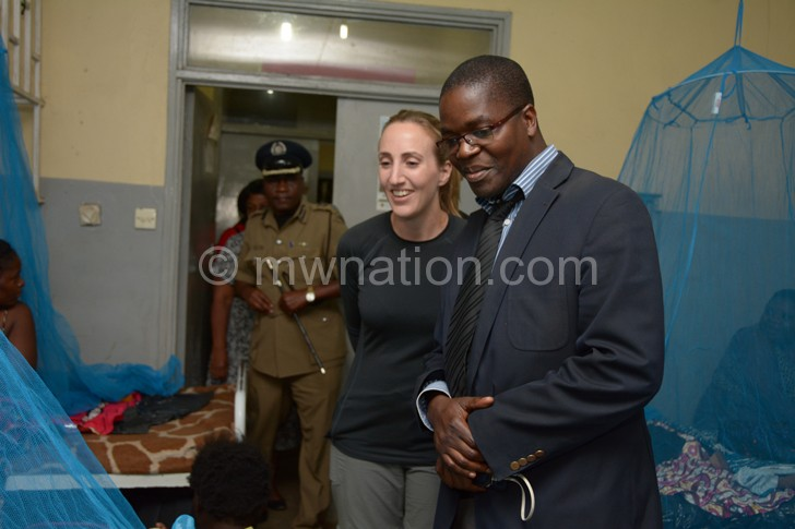 British HIgh Commissioner Holly Tett and Dr | The Nation Online