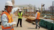 KIA expansion work stalls