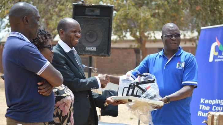 PIL gives Mzimba Hospital K5m medical equipment