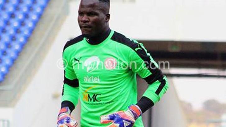 BB 'keeper Kakhobwe out for three weeks