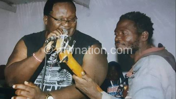 Lucius gets 'surprise' bassist at Balaka show