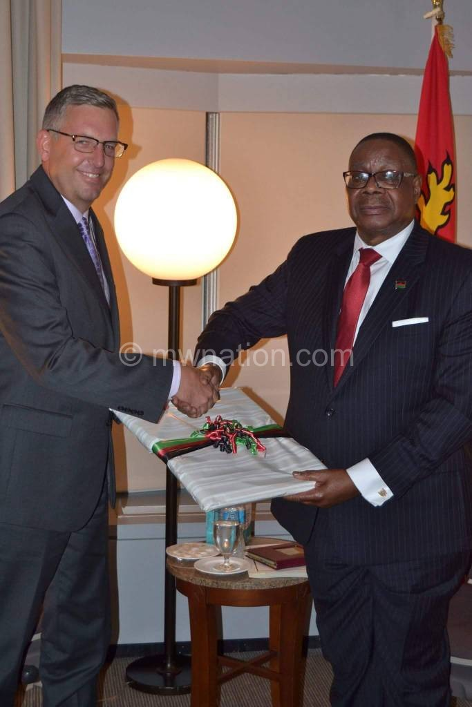 Mutharika in New York | The Nation Online