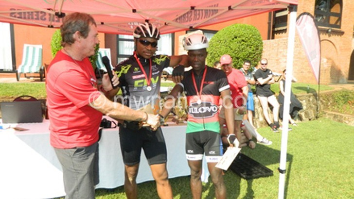 Kathumba, Nazombe shine in Mountain Bike Challenge