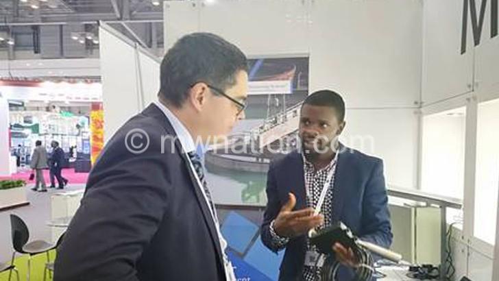 Malawian ICT innovator  exhibits at world forum