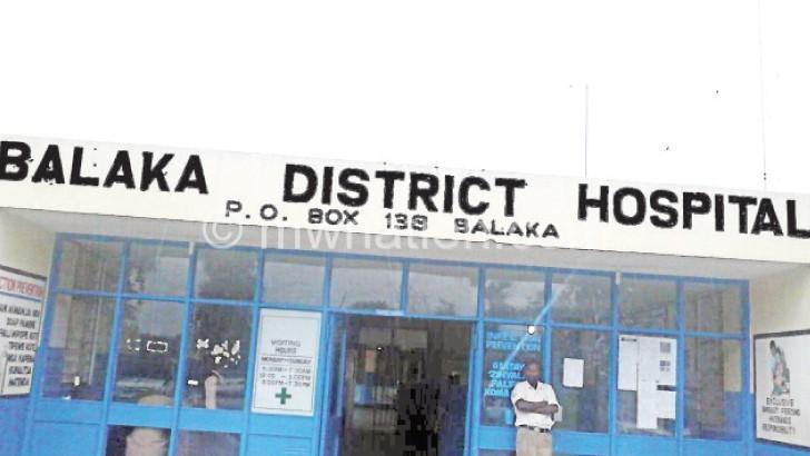 Pregnant women on hunger  strike at Balaka Hospital