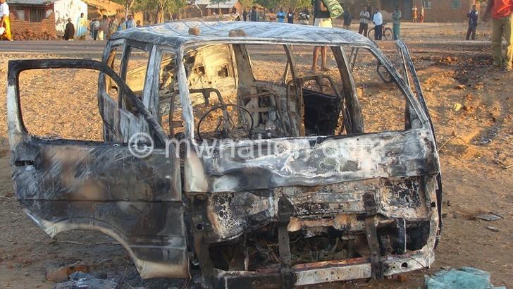 burnt bus | The Nation Online