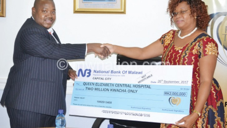 Press Trust donates K2m towards Mother's Fun Run