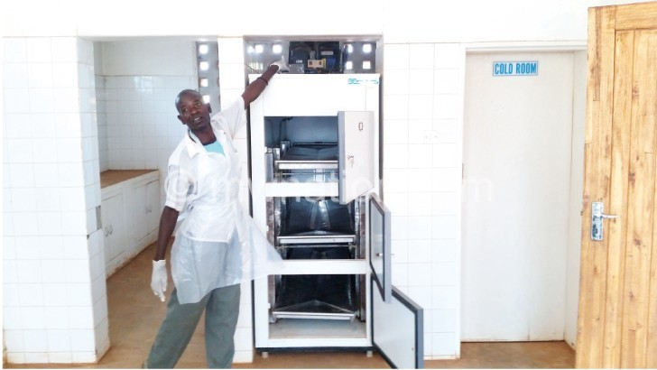Community hospital mortuary back in operation