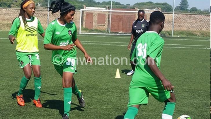 women soccer   The Nation Online