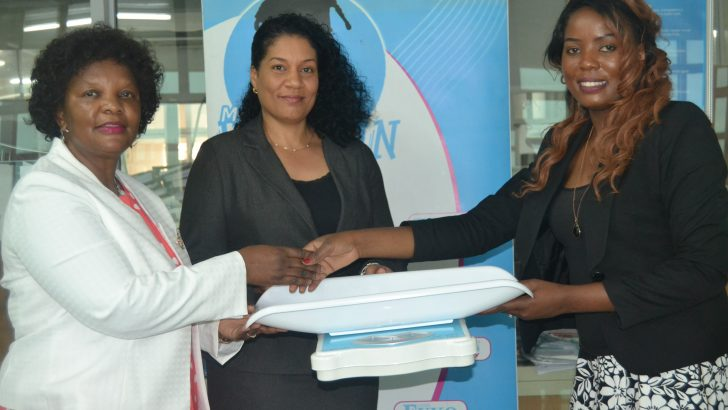 NBM donates towards NPL Mother's Fun Run