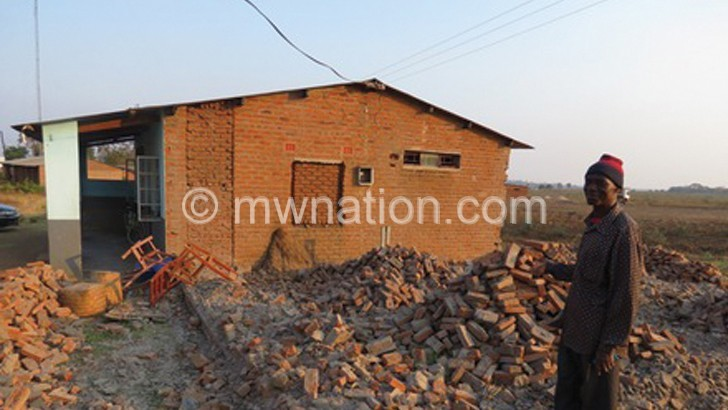 Nkando police extended structure demolished