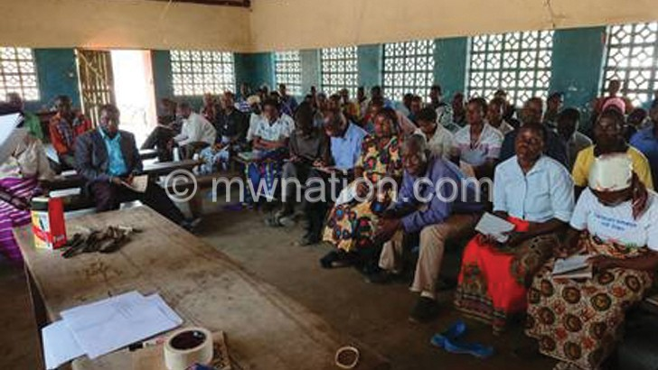 CCJP trains chiefs'  tribunals in Phalombe