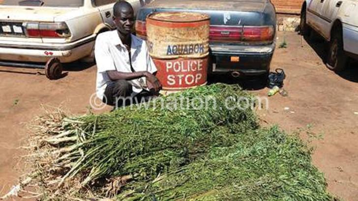 Man arrested for cultivating hemp
