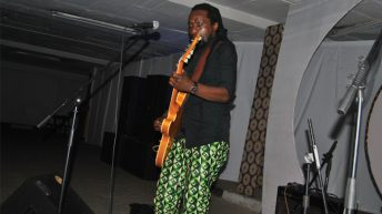 Paliani and his guitar