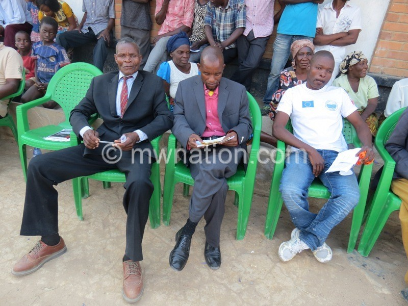 From left Litchowa Chilambo and Shaba at the debate | The Nation Online