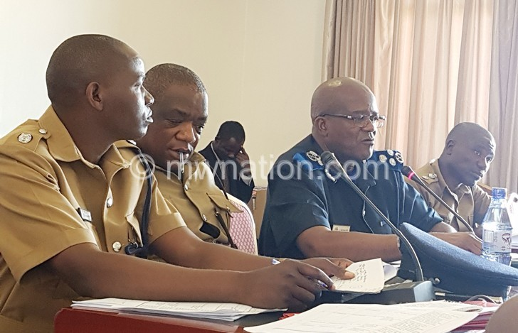 Kachama police parliament | The Nation Online