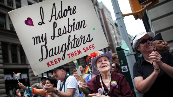 Being a lesbian's mother