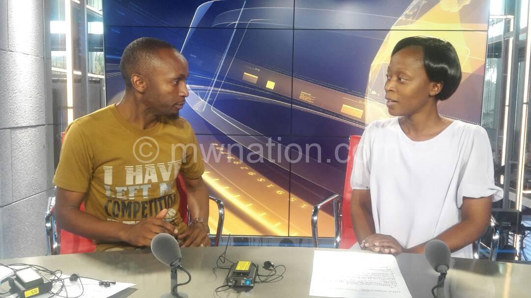Paul Kamanga and NPL's Edith Gondwe | The Nation Online