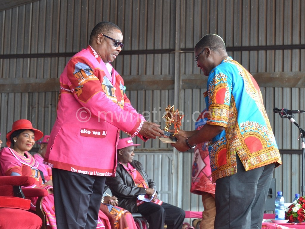 President Mutharika honours Mabedi | The Nation Online