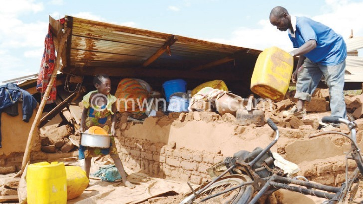 Slums prone to disasters