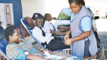 Rumours disrupt blood collection