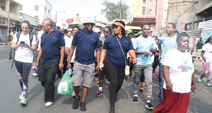 Hundreds walk for safe motherhood in Blantyre